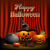 Happy halloween Stock Images