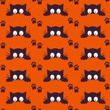 Happy Halloween Background. Seamless pattern Stock Photo