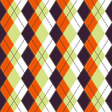 Happy Halloween Background. Seamless pattern. Vector illustration. Collection of seamless patterns in the traditional holiday colo Royalty Free Stock Photography