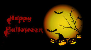 Happy Halloween Background. Halloween Background in VECTOR Eps10 Stock Photo