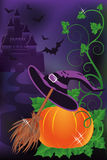 Happy halloween background Royalty Free Stock Photos