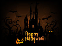 Happy Halloween Background Vector Royalty Free Stock Photo