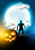 Happy Halloween Background Stock Image