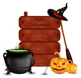 Happy halloween background for you design Royalty Free Stock Photography