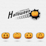 Happy Halloween badges logos and labels for any Royalty Free Stock Image