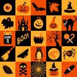 Happy halloween banner. Royalty Free Stock Photo