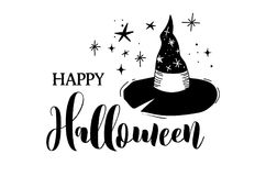 Happy Halloween banner Royalty Free Stock Images