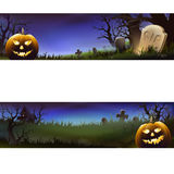 Happy halloween banner , set Stock Photo