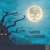 Happy Halloween Banner Stock Photos
