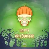 Happy Halloween Banner2 Royalty Free Stock Photo