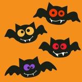 Happy halloween bats Stock Images