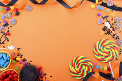 Free Happy Halloween Candy Background Royalty Free Stock Photography - 75567197