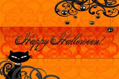 Happy halloween card Royalty Free Stock Photography