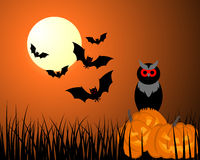 Happy halloween card Royalty Free Stock Images