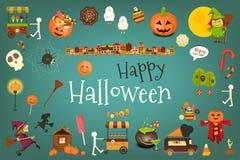 Happy Halloween Card Royalty Free Stock Photo