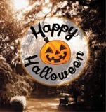 Happy Halloween card Royalty Free Stock Image