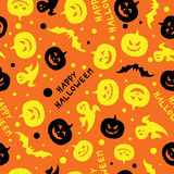 Happy halloween card design vector Stock Photo