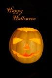 Happy Halloween card Stock Photo