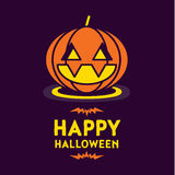 Happy Halloween Card Royalty Free Stock Photos