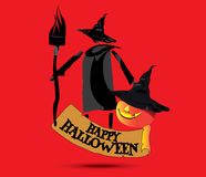 Happy Halloween Concept Design Royalty Free Stock Photo