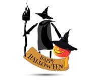 Happy Halloween Concept Design Stock Photos
