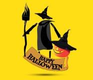 Happy Halloween Concept Design Stock Images
