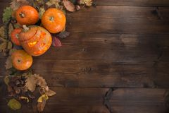 Happy Halloween! The concept of the holiday stock photography