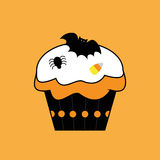 Happy Halloween Cupcake Stock Photos