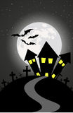 Happy Halloween Day Vector Backgrounds. Halloween day vector backgrounds, illustrator drawing Royalty Free Stock Images