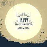 Happy Halloween Design Stock Images