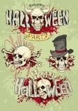 Happy Halloween, emblem Royalty Free Stock Image