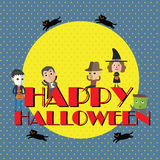 Happy halloween eps10 format Royalty Free Stock Images