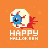 Happy halloween eye vector Stock Photo