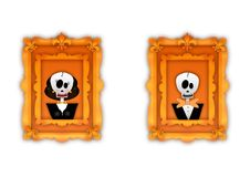 Happy halloween frame Royalty Free Stock Photography