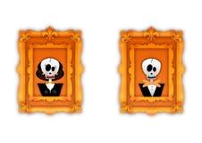 Happy halloween frame Royalty Free Stock Photography