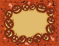 Happy Halloween Frame Stock Photography