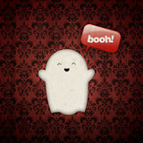 Happy Halloween Ghost Royalty Free Stock Photo
