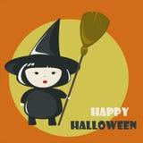 Happy Halloween greeting card Stock Photo