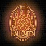 Happy Halloween Greeting Card Template Stock Photo