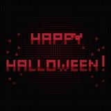 Happy halloween halo Royalty Free Stock Photo