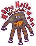 Happy Halloween hand Royalty Free Stock Photos