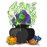 Happy Halloween holiday background Royalty Free Stock Photo