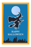 Happy Halloween holiday background Stock Photography