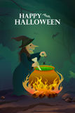 Happy Halloween holiday background Royalty Free Stock Photos