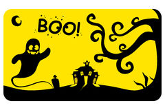 Happy Halloween holiday celebration background. In vector vector illustration