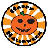 Happy Halloween Icon Stock Photo