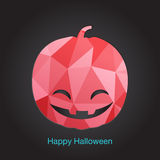 Happy Halloween icon. Vector illustration. Royalty Free Stock Photography