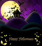 Happy Halloween illustration Royalty Free Stock Photos