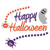Happy halloween.  illustration in vector format Royalty Free Stock Photography