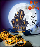 Happy halloween. This is a halloween image author work Royalty Free Stock Image